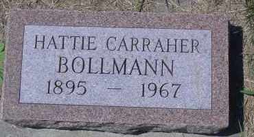 BOLLMANN, HATTIE - Antelope County, Nebraska | HATTIE BOLLMANN - Nebraska Gravestone Photos