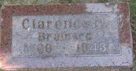 BRAINARD, CLARENCE H. - Antelope County, Nebraska | CLARENCE H. BRAINARD - Nebraska Gravestone Photos