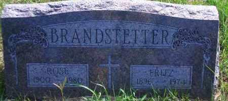 BRANDSTETTER, FRITZ - Antelope County, Nebraska | FRITZ BRANDSTETTER - Nebraska Gravestone Photos