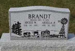 BRANDT, ARDELLA R - Antelope County, Nebraska | ARDELLA R BRANDT - Nebraska Gravestone Photos