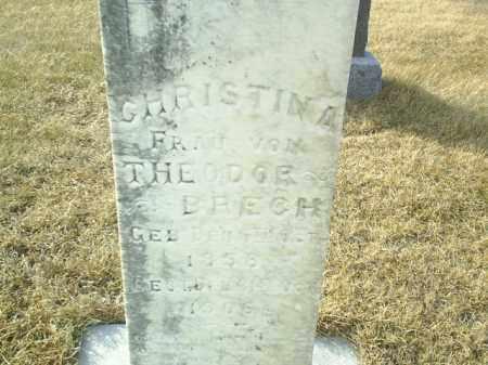 BRECH, CHRISTINA - Antelope County, Nebraska   CHRISTINA BRECH - Nebraska Gravestone Photos