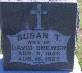 BREWER, SUSAN T - Antelope County, Nebraska | SUSAN T BREWER - Nebraska Gravestone Photos