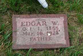 BRIGGS, EDGAR W - Antelope County, Nebraska | EDGAR W BRIGGS - Nebraska Gravestone Photos