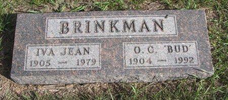 BRINKMAN, IVA JEAN - Antelope County, Nebraska | IVA JEAN BRINKMAN - Nebraska Gravestone Photos