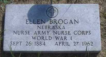 BROGAN, ELLEN - Antelope County, Nebraska | ELLEN BROGAN - Nebraska Gravestone Photos