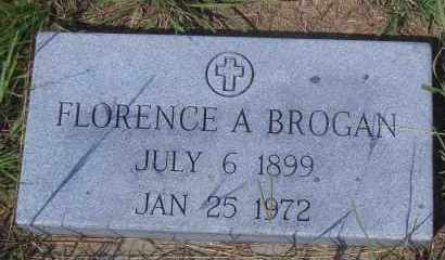 BROGAN, FLORENCE A - Antelope County, Nebraska   FLORENCE A BROGAN - Nebraska Gravestone Photos
