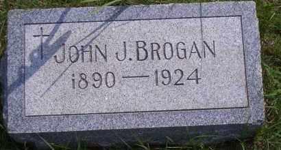 BROGAN, JOHN J - Antelope County, Nebraska | JOHN J BROGAN - Nebraska Gravestone Photos