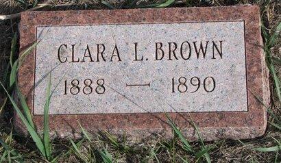 BROWN, CLARA LEE - Antelope County, Nebraska   CLARA LEE BROWN - Nebraska Gravestone Photos