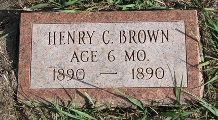 BROWN, HENRY C. - Antelope County, Nebraska | HENRY C. BROWN - Nebraska Gravestone Photos