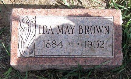 BROWN, IDA MAY - Antelope County, Nebraska | IDA MAY BROWN - Nebraska Gravestone Photos