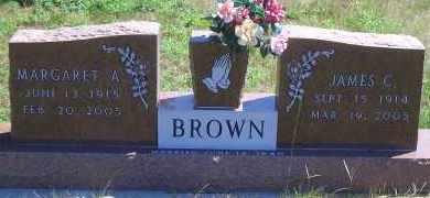 BROWN, JAMES C - Antelope County, Nebraska | JAMES C BROWN - Nebraska Gravestone Photos
