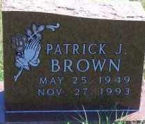 BROWN, PATRICK J - Antelope County, Nebraska   PATRICK J BROWN - Nebraska Gravestone Photos