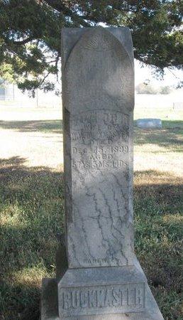 BUCKMASTER, ELIZABETH DEWITT - Antelope County, Nebraska | ELIZABETH DEWITT BUCKMASTER - Nebraska Gravestone Photos