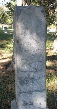 BUCKMASTER, WESLEY W. - Antelope County, Nebraska | WESLEY W. BUCKMASTER - Nebraska Gravestone Photos