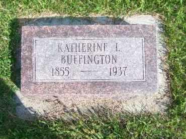 BUFFINGTON, KATHERINE L. - Antelope County, Nebraska | KATHERINE L. BUFFINGTON - Nebraska Gravestone Photos
