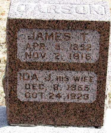 CARSON, JAMES T. - Antelope County, Nebraska | JAMES T. CARSON - Nebraska Gravestone Photos