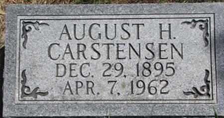 CARSTENSEN, AUGUST H. - Antelope County, Nebraska   AUGUST H. CARSTENSEN - Nebraska Gravestone Photos