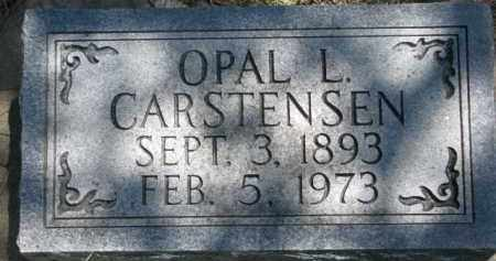 CARSTENSEN, OPAL L. - Antelope County, Nebraska | OPAL L. CARSTENSEN - Nebraska Gravestone Photos