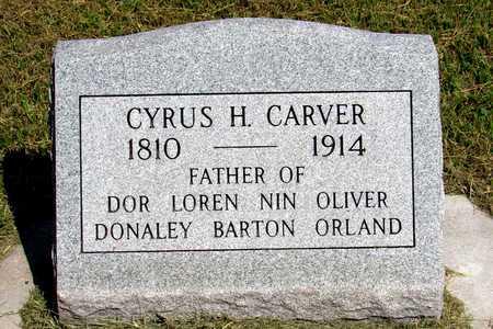 CARVER, CYRUS HOYT - Antelope County, Nebraska | CYRUS HOYT CARVER - Nebraska Gravestone Photos