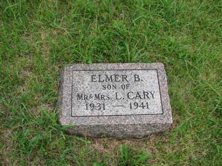 CARY, ELMER BENJAMIN - Antelope County, Nebraska | ELMER BENJAMIN CARY - Nebraska Gravestone Photos