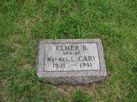 CARY, ELMER BENJAMIN - Antelope County, Nebraska   ELMER BENJAMIN CARY - Nebraska Gravestone Photos