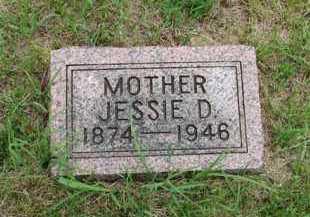 CARY, JESSIE D - Antelope County, Nebraska | JESSIE D CARY - Nebraska Gravestone Photos