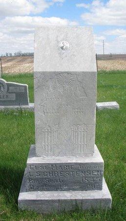CHRISTENSEN, ELSIE MARIE - Antelope County, Nebraska | ELSIE MARIE CHRISTENSEN - Nebraska Gravestone Photos