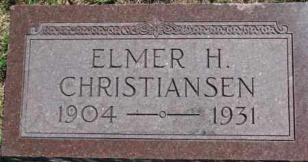 CHRISTENSEN, ELMER H. - Antelope County, Nebraska | ELMER H. CHRISTENSEN - Nebraska Gravestone Photos