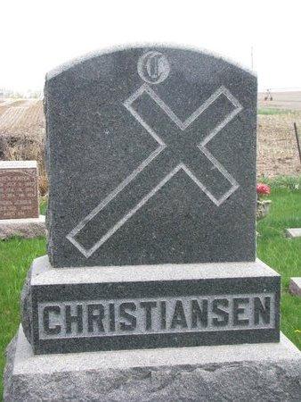CHRISTIANSEN, *FAMILY MONUMENT - Antelope County, Nebraska   *FAMILY MONUMENT CHRISTIANSEN - Nebraska Gravestone Photos