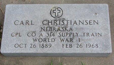 CHRISTIANSEN, CARL - Antelope County, Nebraska | CARL CHRISTIANSEN - Nebraska Gravestone Photos