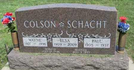 COLSON, WAYNE - Antelope County, Nebraska | WAYNE COLSON - Nebraska Gravestone Photos