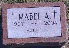 CORKLE, MABLE A - Antelope County, Nebraska | MABLE A CORKLE - Nebraska Gravestone Photos