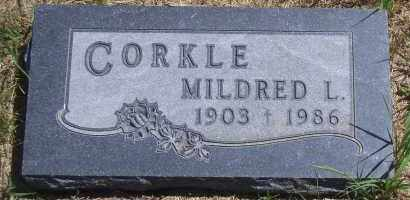 TORPY CORKLE, MILDRED L - Antelope County, Nebraska | MILDRED L TORPY CORKLE - Nebraska Gravestone Photos