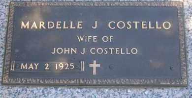 THOMPSON COSTELLO, MARDELLE J - Antelope County, Nebraska | MARDELLE J THOMPSON COSTELLO - Nebraska Gravestone Photos