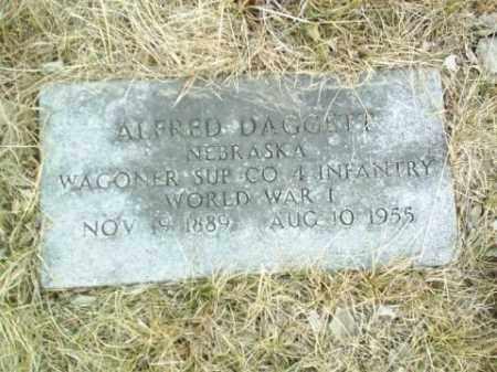 DAGGETT, ALFRED - Antelope County, Nebraska | ALFRED DAGGETT - Nebraska Gravestone Photos