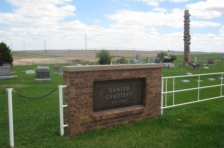 *DANISH, ENTRANCE - Antelope County, Nebraska | ENTRANCE *DANISH - Nebraska Gravestone Photos