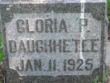 DAUGHHETEE, GLORIA P. - Antelope County, Nebraska | GLORIA P. DAUGHHETEE - Nebraska Gravestone Photos