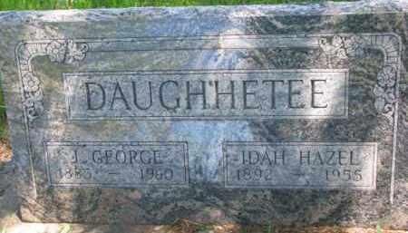DOUGHHETEE, IDAH HAZEL - Antelope County, Nebraska   IDAH HAZEL DOUGHHETEE - Nebraska Gravestone Photos