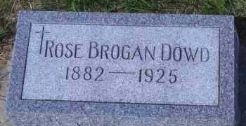 BROGAN DOWD, ROSE - Antelope County, Nebraska | ROSE BROGAN DOWD - Nebraska Gravestone Photos