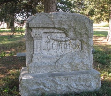 ELLINGTON, *FAMILY MONUMENT - Antelope County, Nebraska | *FAMILY MONUMENT ELLINGTON - Nebraska Gravestone Photos