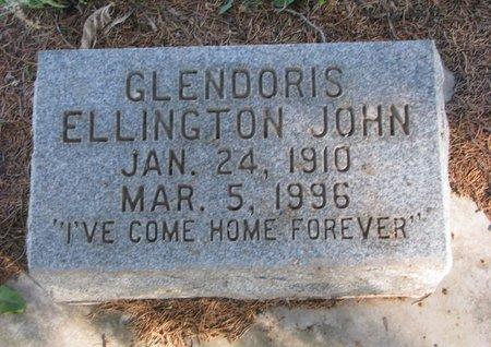 JOHN ELLINGTON, GLENDORIS - Antelope County, Nebraska | GLENDORIS JOHN ELLINGTON - Nebraska Gravestone Photos