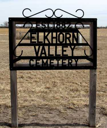*ENTRANCE, ELKHORN VALLEY CEMETERY - Antelope County, Nebraska | ELKHORN VALLEY CEMETERY *ENTRANCE - Nebraska Gravestone Photos