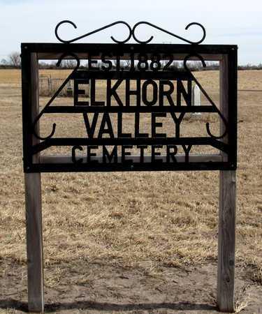 *ENTRANCE, ELKHORN VALLEY CEMETERY - Antelope County, Nebraska | ELKHORN VALLEY CEMETERY *ENTRANCE - Nebraska Gravestone Photos