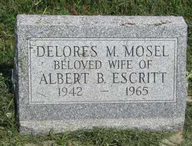 ESCRITT, DELORES M. - Antelope County, Nebraska   DELORES M. ESCRITT - Nebraska Gravestone Photos