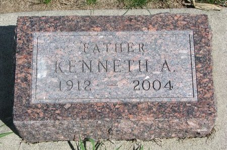 EYER, KENNETH AUSTIN - Antelope County, Nebraska | KENNETH AUSTIN EYER - Nebraska Gravestone Photos