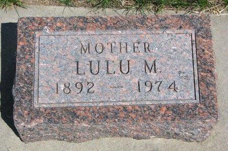 EYER SESSIONS, LULU M. - Antelope County, Nebraska | LULU M. EYER SESSIONS - Nebraska Gravestone Photos