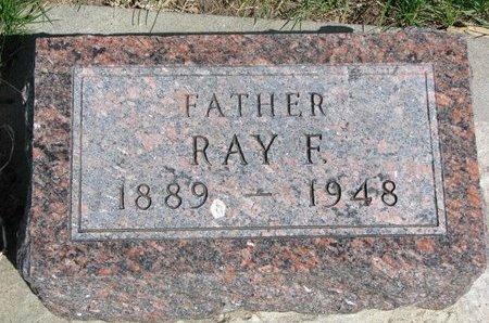EYER, RAY FRANCIS - Antelope County, Nebraska | RAY FRANCIS EYER - Nebraska Gravestone Photos