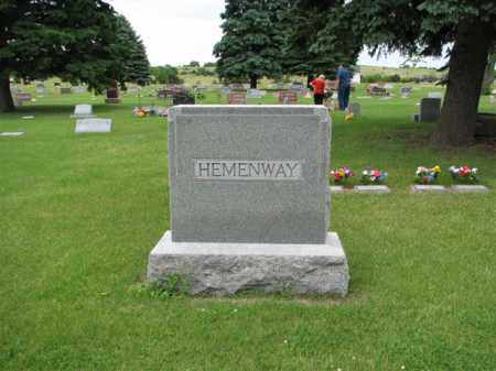 FAMILY STONE, HEMENWAY - Antelope County, Nebraska | HEMENWAY FAMILY STONE - Nebraska Gravestone Photos