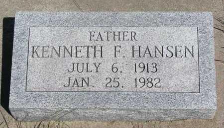 HANSEN, KENNETH F. - Antelope County, Nebraska   KENNETH F. HANSEN - Nebraska Gravestone Photos