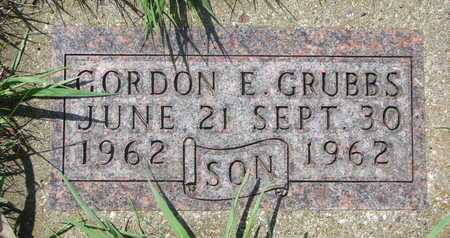 GRUBBS, GORDON E. - Antelope County, Nebraska | GORDON E. GRUBBS - Nebraska Gravestone Photos